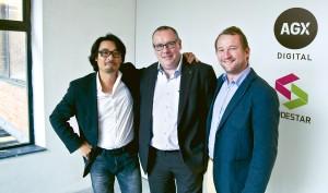 vlnr. Benoit Dubrulle, Johan Taccoen, David Bintein